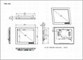 17寸工業顯示器帶觸摸屏 5