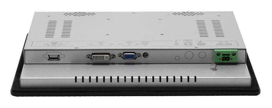 帶觸摸屏1024x768液晶屏的12.1寸工業顯示器 4