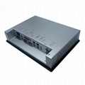 10.4 inch LCD 1024x768 industrial panel computer with win7and RS232 RS485  4