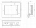 帶觸摸屏的8寸工業平板電腦 5