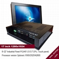17 inch LCD industrial Panel PC support