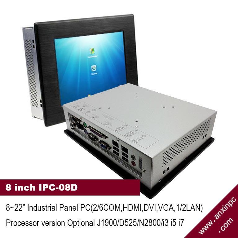 帶觸摸屏的8寸工業平板電腦 1