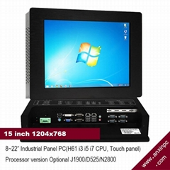 15 inch Touch Screen industrial panel PC