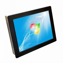 19寸工业平板电脑带触摸屏显示6个串口