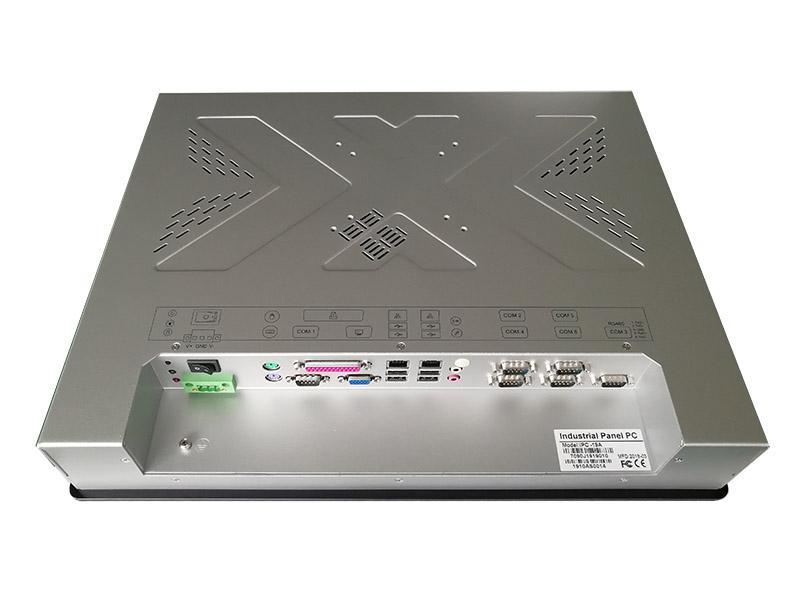19寸工業平板電腦帶觸摸屏顯示6個串口 2