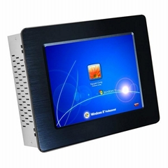 8 Inch Industrial Touch Screen panel PC with with parallel port