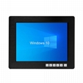 帶觸摸屏1024x768液晶屏的12.1寸工業顯示器 1