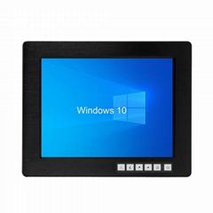 帶觸摸屏1024x768液晶屏的12.1寸工業顯示器