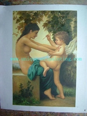 Bouguereau oil painting