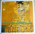 Klimt oil painting