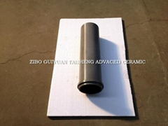 Riser tube for aluminium low pressure die casting