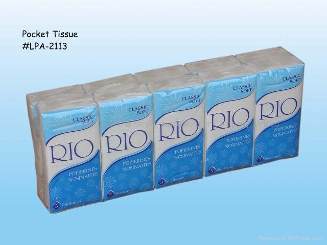 Pocket Tissue 5