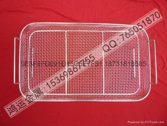 不鏽鋼醫療器械清洗籃 3
