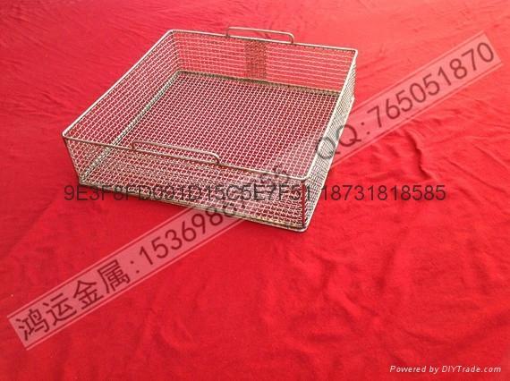 不鏽鋼醫療器械清洗籃 4