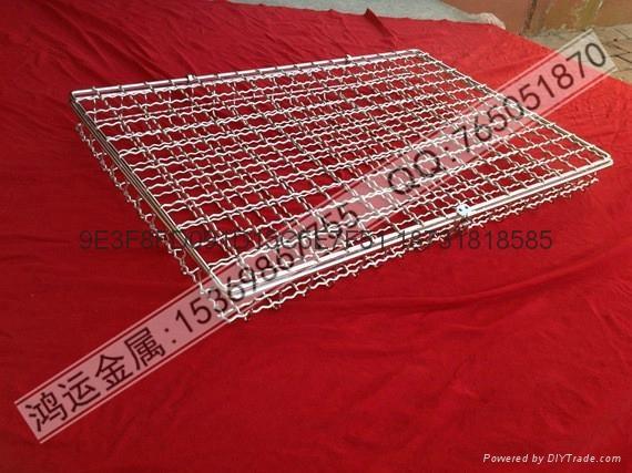 不锈钢材质专业电子清洗网篮 3