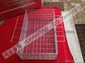 不锈钢材质专业电子清洗网篮 5