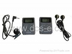 无线数字导游讲解器充电版