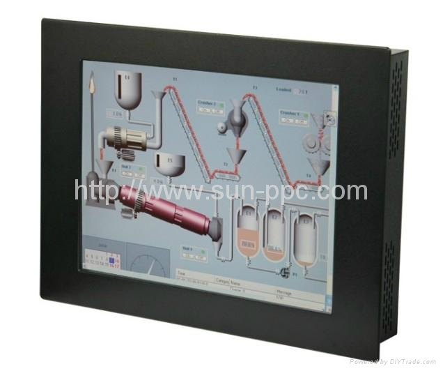 IP65 19 i3/i5/i7 industrial touch panel pc  1