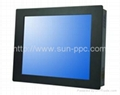 IP6517 inch fanless touch industrial computer N2800 1