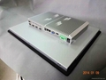 IP6517 inch fanless touch industrial computer N2800 2