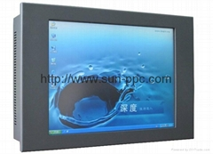 22 inch IP65 Wide LED Industrial Panel PC,all in one pc 1680x1050  4COM RS485
