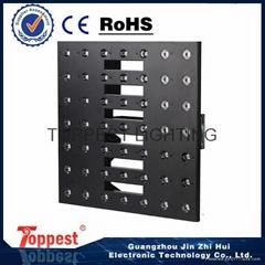 Artnet led panel 49pcs 3w warm white blinder