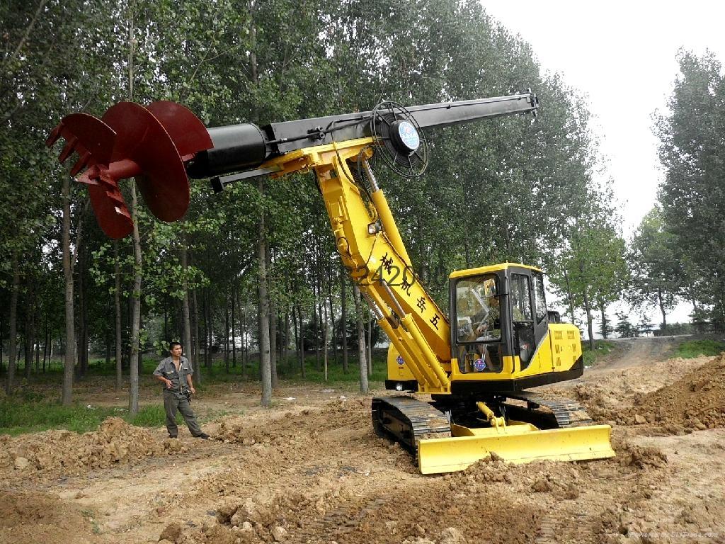 五嶽重工wy-360-12履帶旋挖鑽機 5