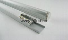 Hot aluminium led lighting profile for ceiling light decoration
