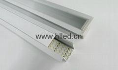 Recessed linear aluminum