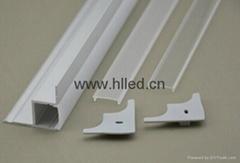 Aluminium-ceiling or wall LED profile for LED lighting fittings