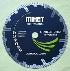 T-Turbo Segmented Diamond Blade with Pro-Teeth Protection