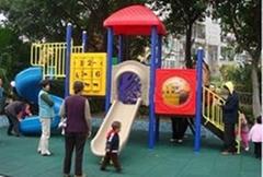 大型儿童遊樂設施PVC安全地墊