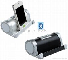 New Portable Metallic Bluetooth Speaker with handsfree/USB/TF/FM Radio