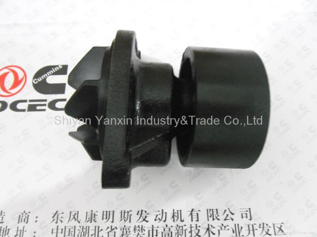 Dongfeng cummins ISde water pump 4891252 1