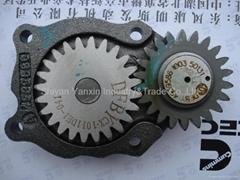 Dongfeng cummins ISde oil pump 4939586