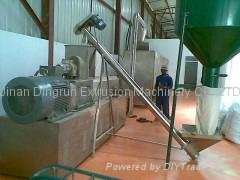 Floating fish feed processing line/Tilapia feed pellet extruder 2