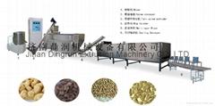 Textured soyabean protein making machine