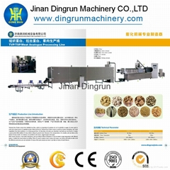Automatic Soya Nuggets Making Machinery /Soy protein meat nuggets machine
