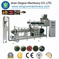 Floating fish feed processing line/Tilapia feed pellet extruder 3