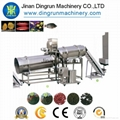 Floating fish feed processing line/Tilapia feed pellet extruder 4