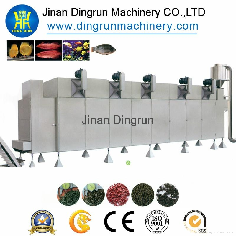 Floating fish feed processing line/Tilapia feed pellet extruder 5