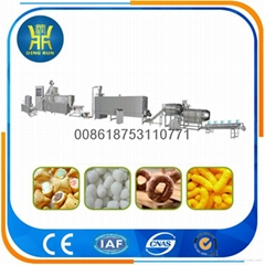 Corn snacks food machine snack food extruder