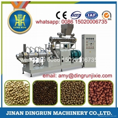 Stainless steel fish feed extruder