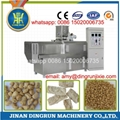 textured soy protein extruder production