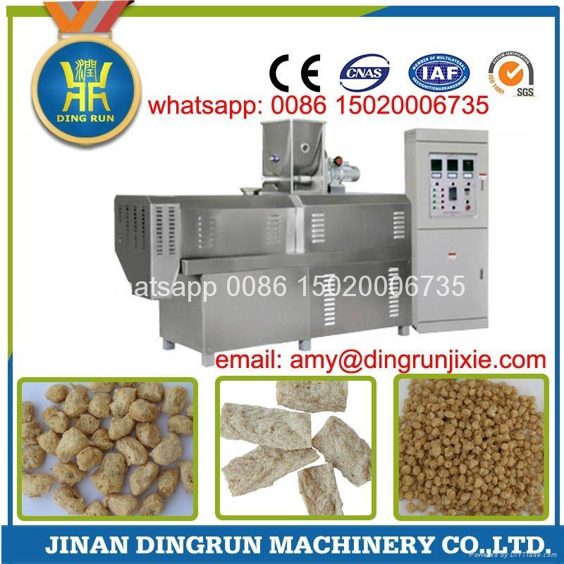 textured soybean protein extruder machine 8
