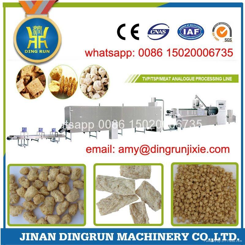 textured soybean protein extruder machine 1