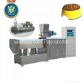 Dog food extruder machinery、Dog feed extruder equipment