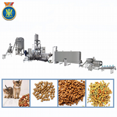 500kg/h 狗糧加工機械/寵物食品生產線