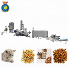 Pet food processing mach