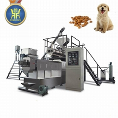 Dog feed pellet machine